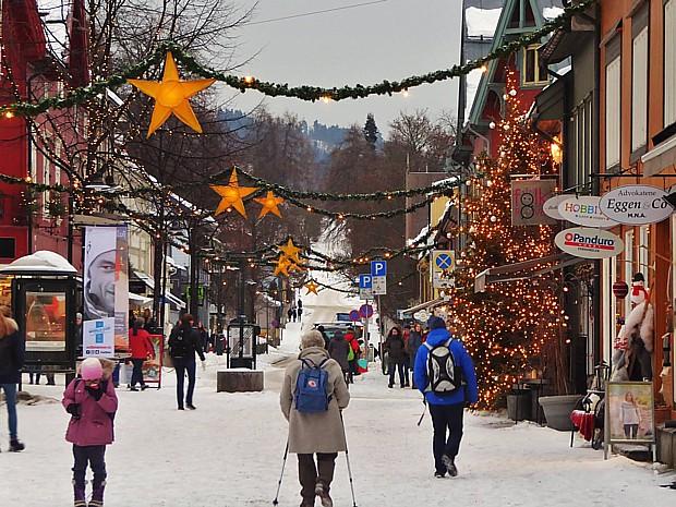 Lillehammer Jul Advent Weihnachten Copyright Aashild Soederholm