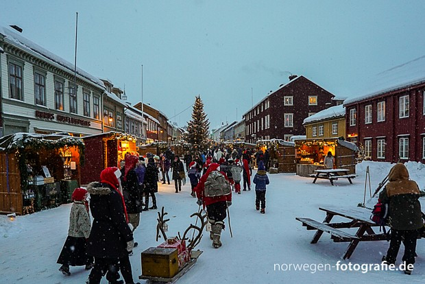 Røros Weihnachten jul Røros Copyright Sirko Trensch – norwegen-fotografie.de