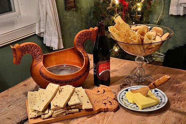 Lefse Weihnachtsbier Trinkschale – Copyright m_dicksonfoapvisitnorway