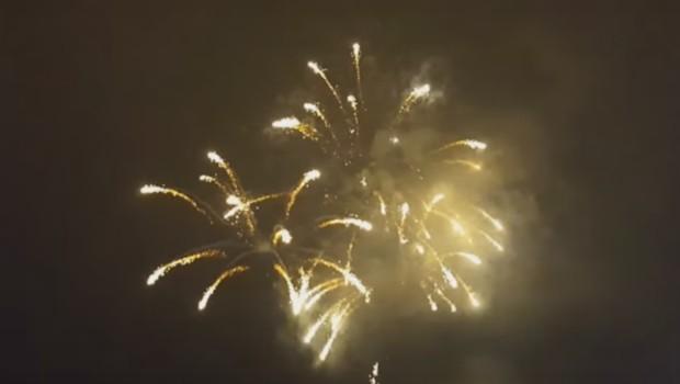 Feuerwerk Oslo 1 Neujahr