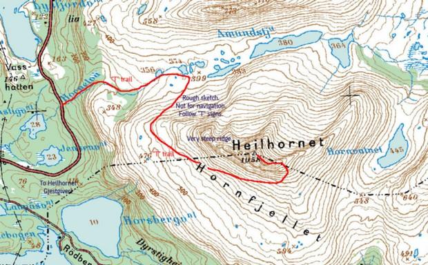 Heilhornet Wanderung