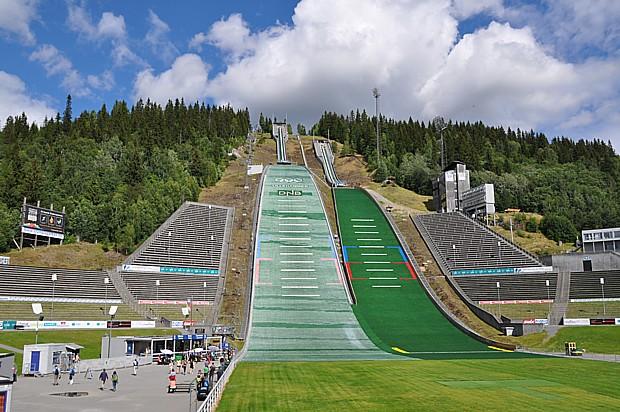 Sprungschanze Lillehammer