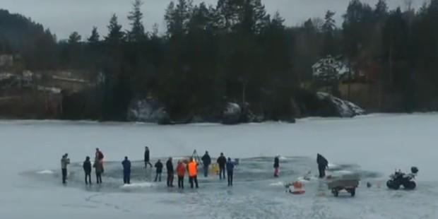 Eiskarusell Norwegen; Screenshot