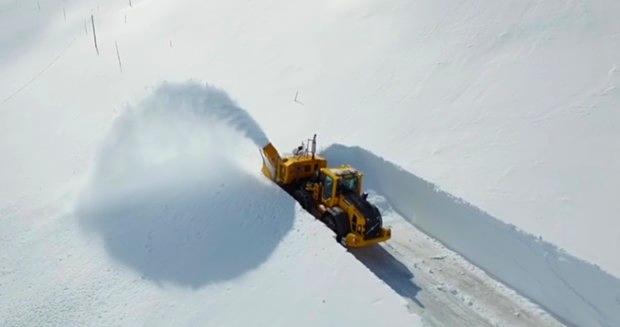 Schneeraeumung Screenshot nrk