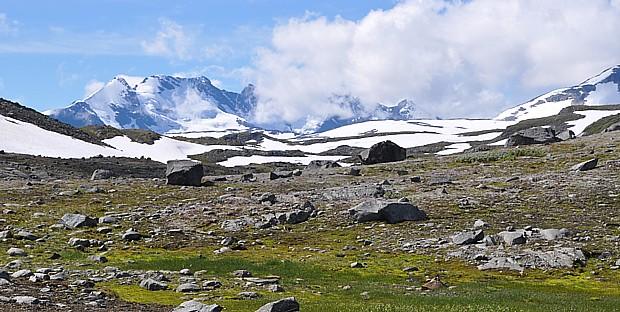 Wandern Gebirge Jotunheimen Berge