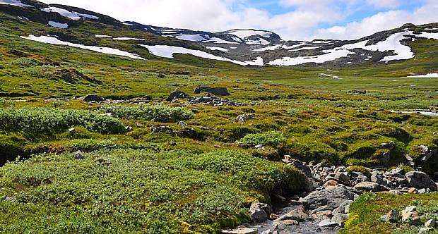Wandern Gebirge Jotunheimen2