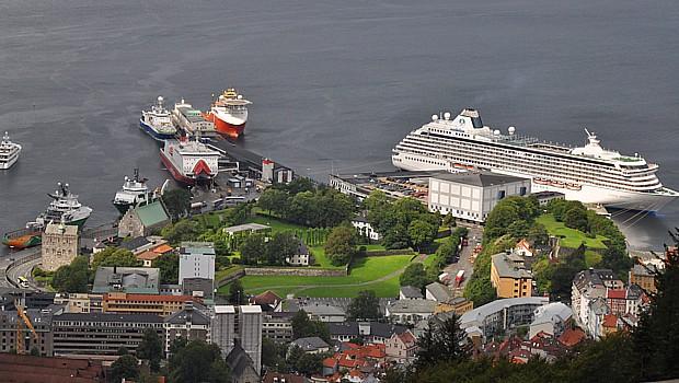Kreuzfahrtschiff Bergen