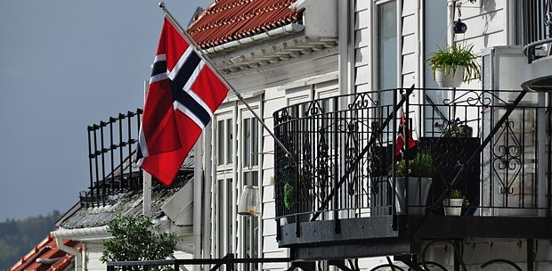 Norwegenflagge Fahne Flagge