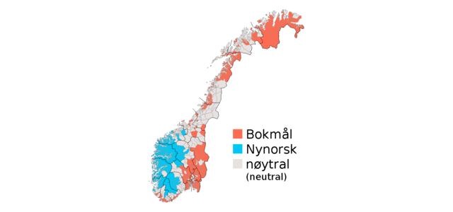 bokmaal nynorsk