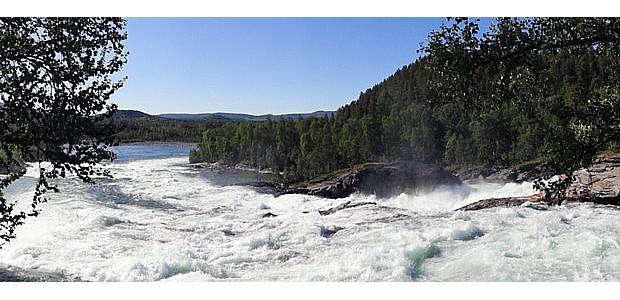 Maalselvfossen, Copyright Bjørn Christian Tørrissen