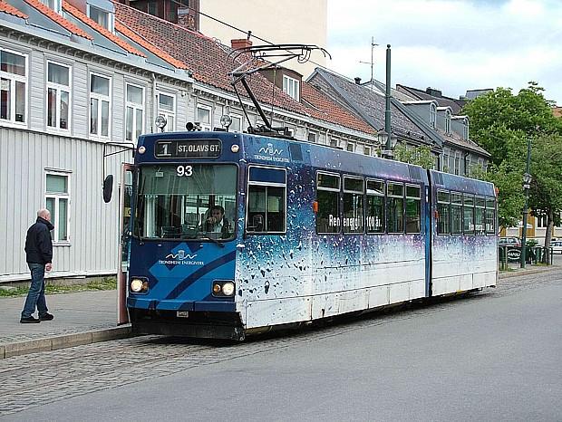 Trondheim_Strassenbahn