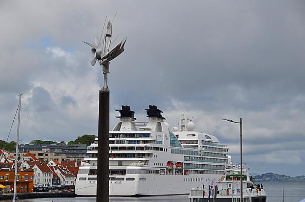Kreuzfahrtschiff Stavanger denkmal