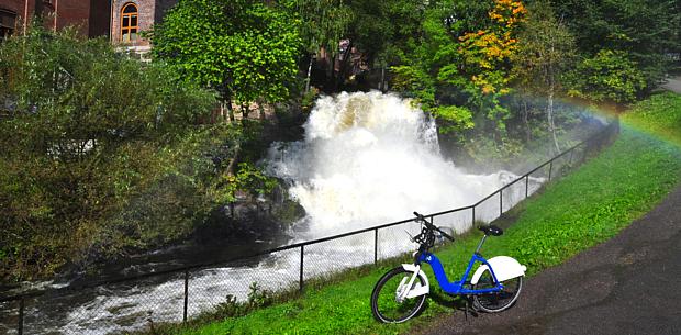 Citybike Oslo Rad fahren Fahrrad