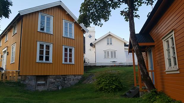 Holzhäuser Svolvær Lofoten