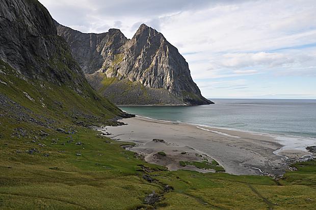 Kvalvika Lofoten Strand