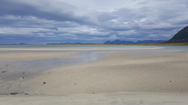 Lofoten Strand Sand