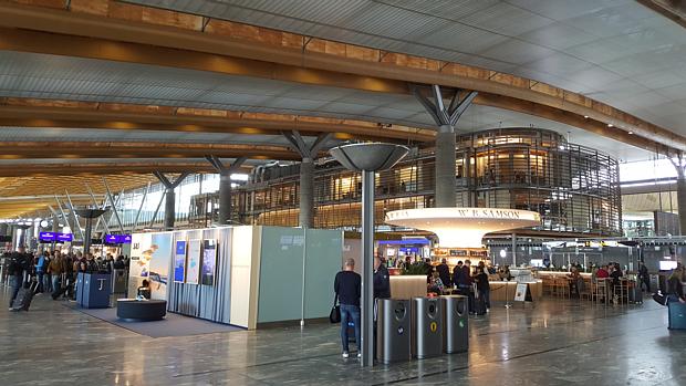 Flugplatz Oslo Gardermoen