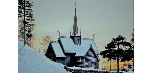 Stabkirche Lillehammer Copyright Aashild Soederholm