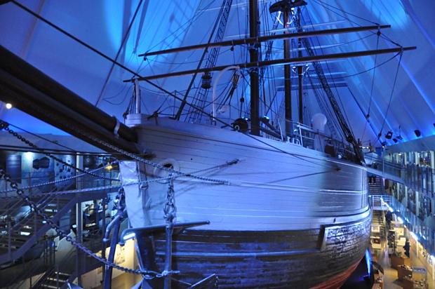 Fram Polarschiff Amundsen