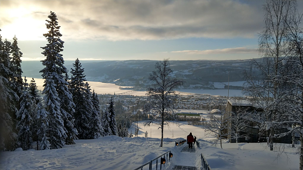 LIllehammer Winter Copyright Heiko 04 Schnee Blick