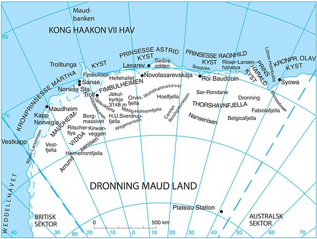 Dronning Maud Land Copyright snl