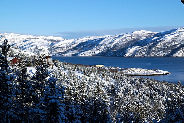 Alta Winter Schnee Blick 08