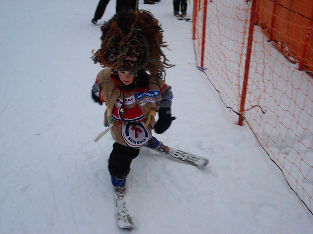 Troll Ski Abfahrt