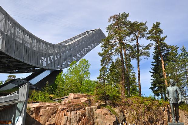 102 Holmenkollen Schanze Oslo Nansen