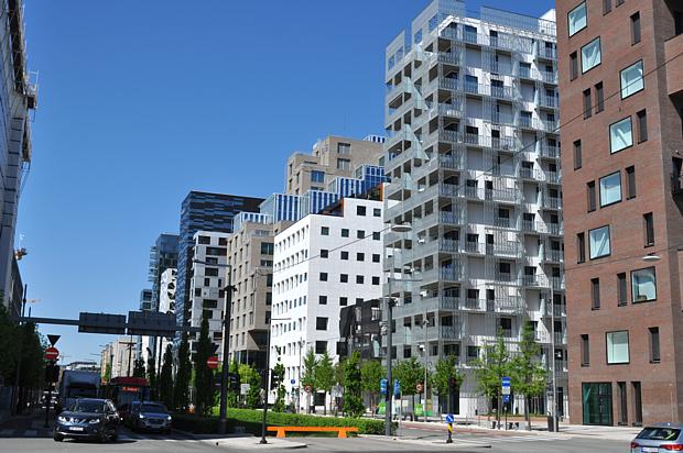 Barcode Oslo Architektur Politik Wirtschaft