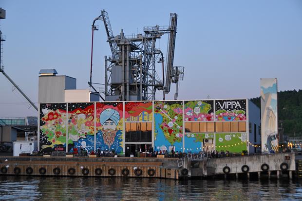 134 Urbanes Leben Oslo Grafitti Subkultur Industrie Streetart
