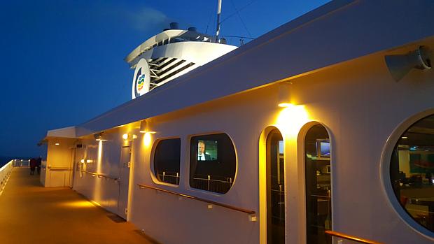 Auf der Fähre Color Line Anfahrt Anreise Reisen