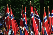 Norwegischer Nationalfeiertag - Gratulerer med dagen Norge