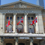 Nationaltheater Kunst Kultur Flagge