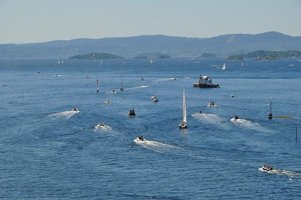Oslofjord Boote Wasser Freizeit Sport