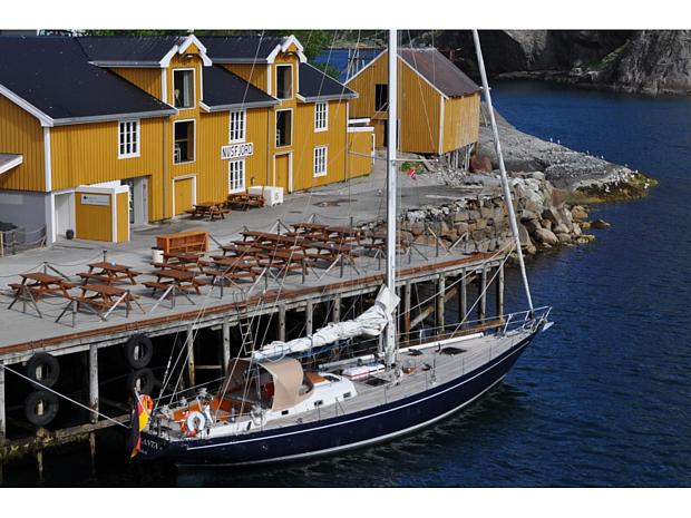 Segeltoern – Nusfjord Lofoten