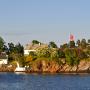 152 Haeuser Flagge Oslofjord Baxen