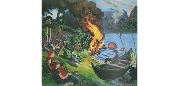 Nikolai Astrup – Sankt Hans – Mittsommernacht