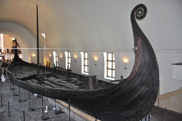 Osebergschiff Wikinger Oslo