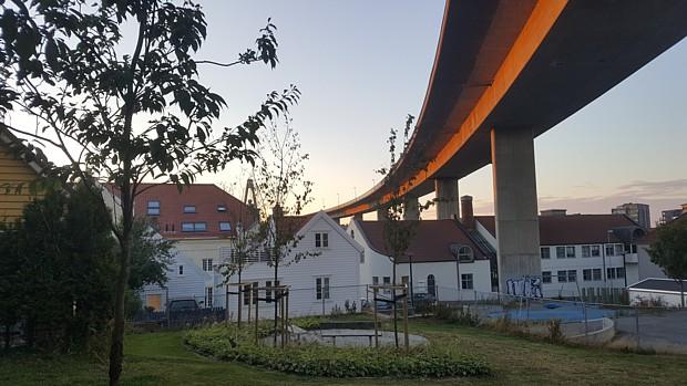 Stavanger Bruecke Wirtschaft Urban Strasse