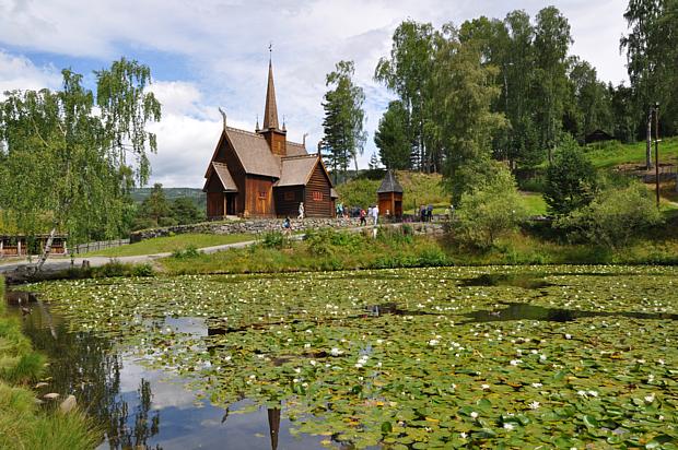 Stabkirche Maihaugen Lillehammer