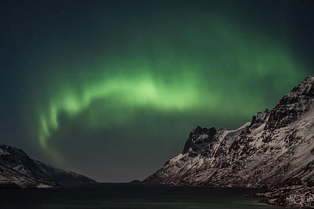 Polarlicht  über Nord-Norwegen – Copyright Natur im Fokus