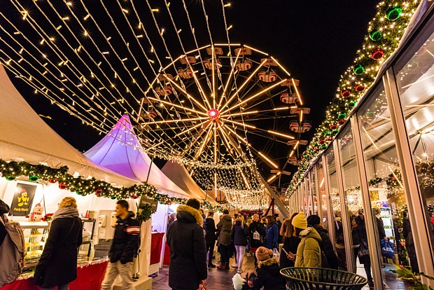 Weihnachtsmarkt Bergen Copyright Robin Strand – visitBergen