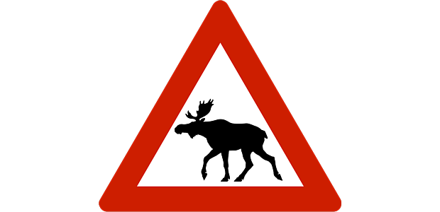 Elchschild Norwegen