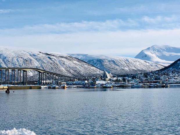 Tromsoe im Maerz