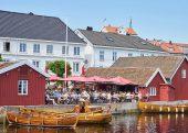 Tollboden Hotel und Restaurant in Kragerø