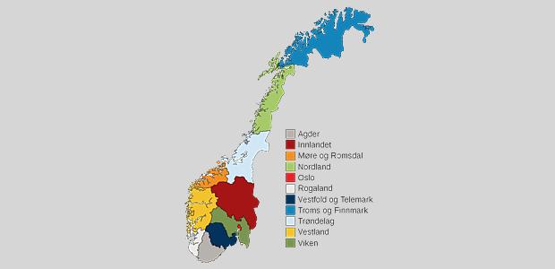 Norges nye fylker – Wikipedia