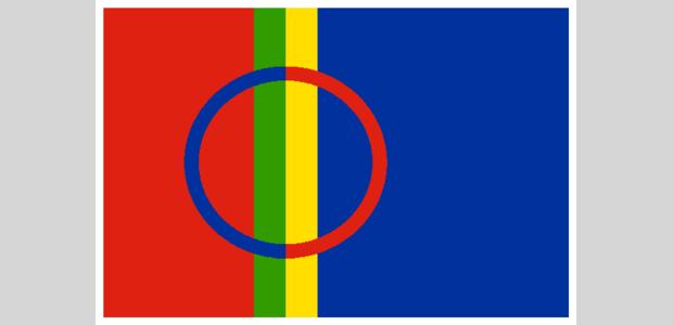 Samische Flagge