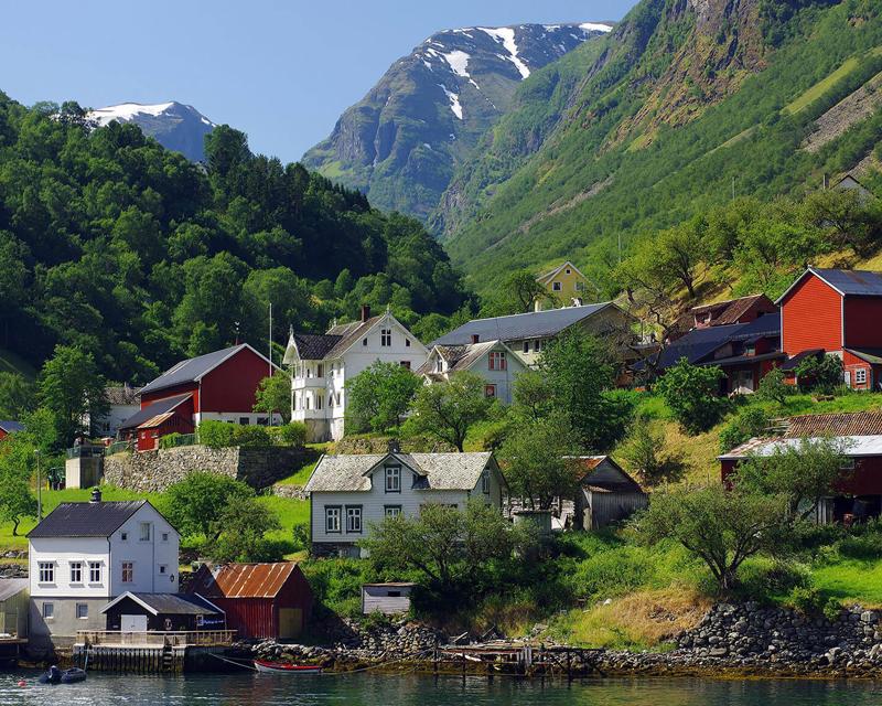 Hardangerfjord/Voss