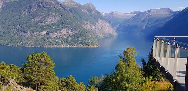 Geirangerfjord Aussicht Plattform Tourismus